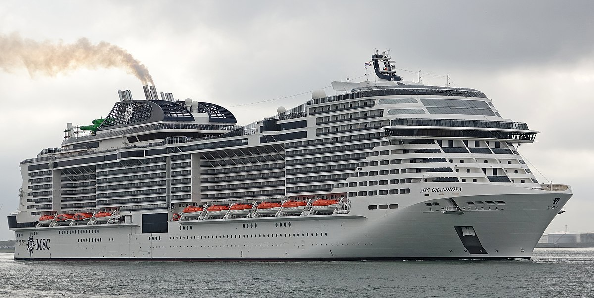 sailing of msc grandiosa in 2020 post pandemic